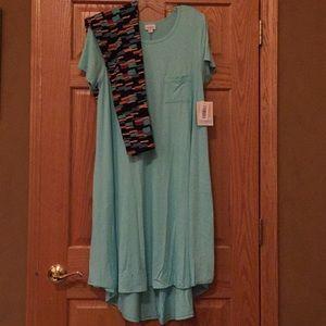 NWT LuLaRoe Carly and leggings